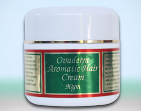 Ovaderm Aromatic Hair Loss Cream Natural Secrets